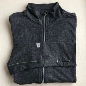 FANTASTIC ATHLETIC STYLE ROOTS ZIP UP JACKET